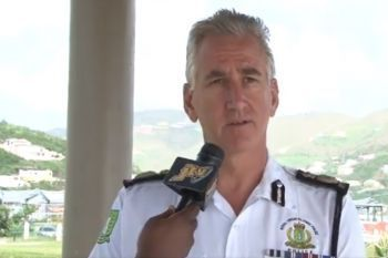 Police Commissioner Mathews B. Matthews had fired Mr Wendell Anthony and Mr Marvin Robinson from the Royal Virgin Islands Police Force (RVIPF) in 2017. Photo: VINO/File