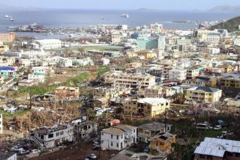 When the Virgin Islands was devastated by Hurricane Irma in September 2017, a state of emergency was called and Governor took charge of the recovery efforts. Photo: File