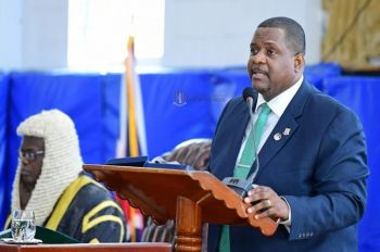 Premier Andrew A. Fahie made the announcement on Budget Day 2020 during the Third Session of the Fourth House of Assembly (HoA) on November 12, 2020. Photo: GIS/Facebook