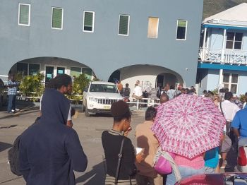 Mr Fahie also noted that the Immigration Department will go through a period of training and new temporarily recruitment to handle the forecasted increase workload projected to come from the initiative. Photo: VINO/File