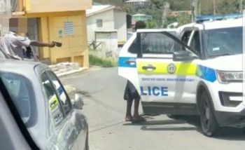 A young man from Long Look, Tortola, had accused officers of the Royal Virgin Islands Police Force (RVIPF) of using a stun gun on him 'for no reason' on Wednesday, April 8, 2020. Photo: VINO/File