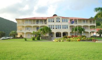 H. Lavity Stoutt Community College (HLSCC) was founded under the Virgin Islands Party (VIP) Government and was opened in 1990 when the late H. Lavity Stoutt was the Chief Minister of the territory and the founding Chairman of the College's Board of Governors. Photo: VINO/File