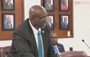 Hon Carvin Malone declared in a statement during the Seventh Sitting of the First Session of the Fourth House of Assembly of the Virgin Islands on October 17, 2019, that the government will not rest until the repairs to the facility is completed. Photo: VINO/File