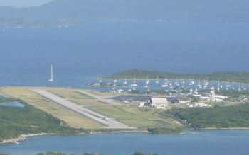 Many are concerned that the territory is already cash strapped and should not undertake the extension of the Terrance B. Lettsome International Airport runway on Beef Island at this time. Photo: VINO/File