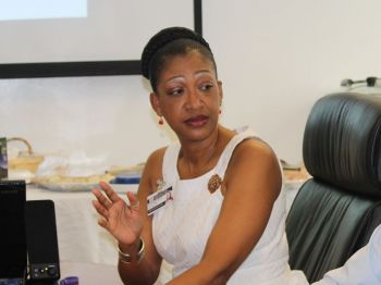 Darlene Carty-Baptiste's second two-year contract with the BVI Health Services Authority comes to an end in September 2016. Photo: VINO/File