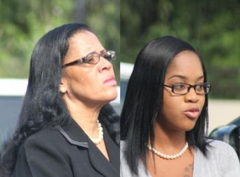 Mother and daughter: Irene F. Penn-O'Neal and Zubida O'Neal have been found not guilty on all charges. Photo: VINO/File
