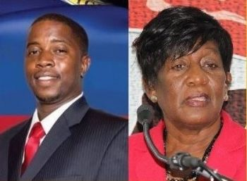 Second District Representative Hon Melvin 'Mitch' Turnbull and Fifth District Representative Hon Delores Christopher (right) were also suggested as possible Junior Ministers before Hon Penn and Hon Christian received the nod. Photo: VINO/File