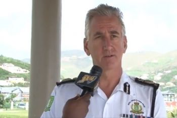 Commissioner of Police, Michael B. Matthews commended the ranks on the most recent successes of the newly trained Armed Response Unit in many of these firearm recoveries as well as illegal drugs and the illegal motorbike. Photo: VINO/File
