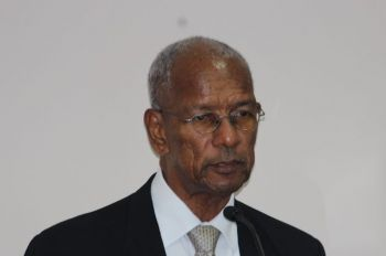 Premier Dr The Hon D. Orlando Smith (AL) has fired back at BVI Airways, stating that Government had honoured its obligations to the airline and that the public was awaiting the commencement of flights. Photo: VINO/File