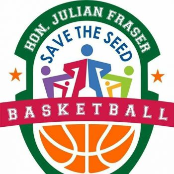 The Hon Julian Fraser Save the Seed Basketball League was founded in 2013 by both Hon Julian Fraser RA (R3) and Bishop John I. Cline, of the New Life Baptist Church. Photo: VINO/File