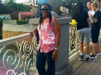 The body of Ms Lettsome-Green was found riddled with bullets on a road at George's Northside in Tortola before she was rushed to the Peebles Hospital where she later succumbed to injuries sometime before 11:00 PM last Sunday evening, May 26, 2019. Photo: Team of Reporters