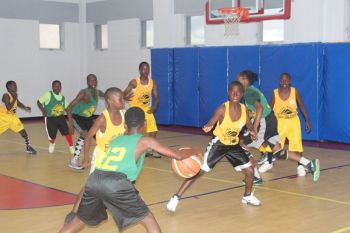 There will be triple header action in the Men's Division in the Hon. Julian Fraser's Save the Seed National Basketball League in Duffs Bottom today, August 23, 2013. The youth in the 9-12 Division will be in action on Saturday and Sunday, however. Photo: VINO/File