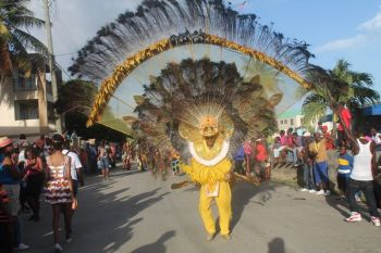 The East End/Long Look Festival Committee is reporting a successful staging of activities for the 2013 Virgin Islands Emancipation Festival. One of the successes was the biggest ever parade this year. Photo: VINO