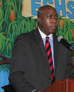 Minister for Education and Culture Hon Myron V. Walwyn's proposed design for a building to house a gymnasium, auditorium and cafeteria has been met with mixed reactions from the public. Photo: VINO/File