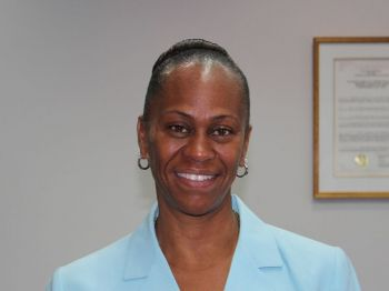 President of the VI Horse Owners Association, Mrs Karen Smith-Aaron has urged local horse racing fans to faithfully support the August Tuesday races at Ellis Thomas Downs on August 6, 2013. Photo: VINO/File