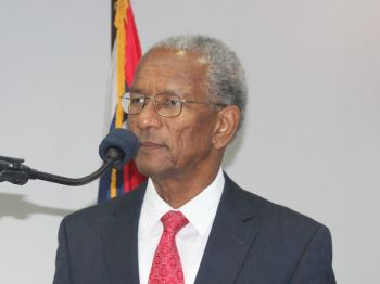 Premier and Minister of Finance Dr the Honourable D. Orlando Smith has expressed his disappointment about the headlines carried by local online news sites on the recently opened Office in Hong Kong, which is now headed by his wife Mrs Lorna Smith. Photo: VINO/File