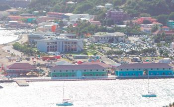 The Ports Development Project was the National Democratic Party's ticket to be re-elected in 2015, the Court was told. Photo: VINO/File