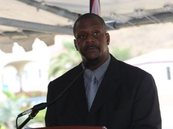 Honourable Andrew A. Fahie (R1), Leader of the Opposition, is very positive that money is one of the main challenges the Territory's flag carrier, BVI Airways, is experiencing and which is hampering their efforts at direct flights from Miami, USA to Beef Island, Virgin Islands. Photo: VINO/File