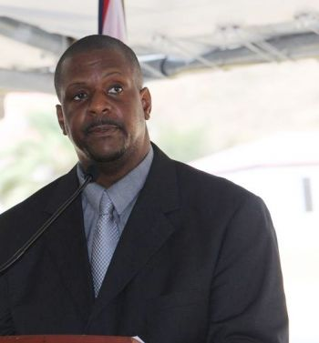 Leader of the Opposition Hon Andrew A. Fahie (R1) has always warned the public that BVI Airways was not going to fly any time soon. Photo: VINO/File