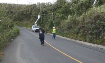 BVI Electricity Corporation (BVIEC) has accused BVI Cable TV of accessing BVIEC's poles without its permission and that 'some of their reckless attachments were creating safety risks to both the public and BVIEC's personnel'. Photo: Facebook