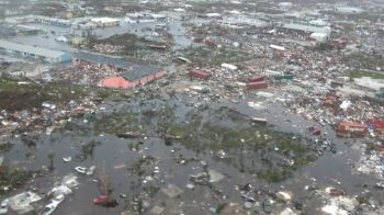 Aerial footage shows total devastation in Abaco, Bahamas after Hurricane Dorian. Photo: Youtube/File