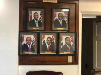 Under the Constitution, the Governor must appoint whoever comes to him with a majority and at this time, with three political parties in the Opposition, the PVIM has 3, VIP 1, and Progressives United (PU) 1. Photo: VINO/File