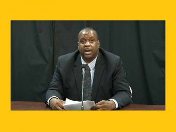 Virgin Islands Party (VIP) Chairman and former Leader of the Opposition Honourable, Andrew A. Fahie (R1) says it is historic that the National Democratic Party (NDP) now controls both the Government and the Opposition within the Virgin Islands' House of Assembly (HoA). Photo: Facebook