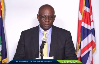 Deputy Premier and Minister for Health and Social Development, Honourable Carvin Malone (AL) has since debunked the report as false and noted that the two persons have both tested negative for the virus but are still undergoing the mandatory 14-day quarantine. Photo: GIS/File