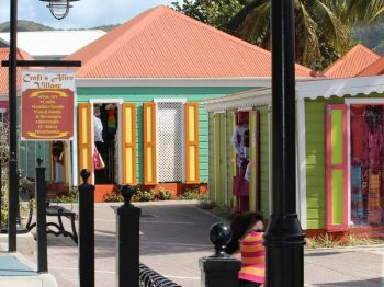 As a result of public urination, Claude O. Skelton-Cline said prominent local areas such as the Crafts Alive Village now stink with the smell of urine. Photo: VINO/File