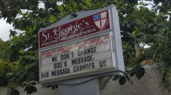Controversy continues to reign in the St George's Episcopal (Anglican) Church. Photo: VINO/File
