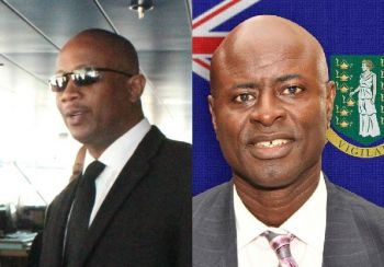 From left: Claude O. Skelton-Cline and Attorney General Baba Aziz. Former Managing Director of the BVI Ports Authority (BVIPA) Claude O. Skelton-Cline, through his attorneys, has filed a lawsuit against the Attorney General of the Virgin Islands. Photo: VINO/GIS