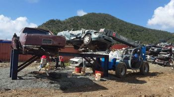 The minister said it remains costly for government export vehicle metal as part of its campaign to get rid of all those derelict vehicles. Photo: GIS/File