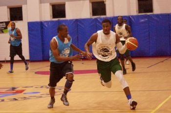 """Deon J. Edwin was back home to the country he loves the most and today loves the memories of his stay. """"My most memorable moments while in the BVI on my last trip was winning the championship in the Julian Fraser League and being the MVP champion of the finals while playing with Bayside Blazers as Guard, something I was proud of.""""Photo: Provided"""