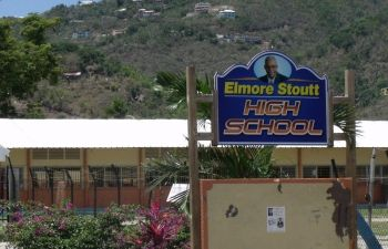 Reports are that the Elmore Stoutt High School is also short on school supplies. Photo: VINO/File