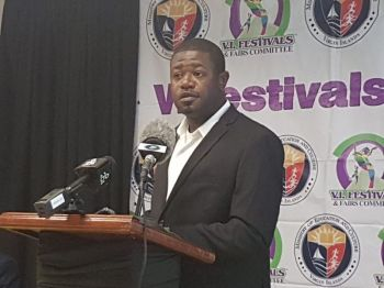 Chairman of the Virgin Islands Festivals and Fairs Committee, Mr Carnel D. Clyne. Photo: VINO/File
