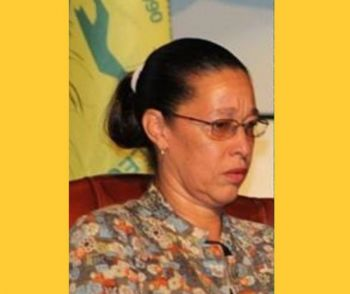 Permanent Secretary in the Ministry of Education and Culture Dr Marcia Potter. Photo: VINO/File
