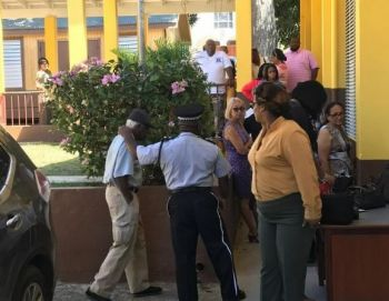 2019 Voters in the third electoral district, Sea Cow's Bay. Photo: Team of Reporters/File