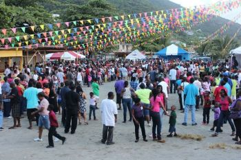 Emancipation Festival activities in Carrot Bay, Tortola, in 2013. Carrot Bay has always had a strong component with their cultural fiesta and that this year, in addition to their customary activities, will be having a traditional 'market day', where local produce and cultural treats will be on sale. Photo: VINO/File