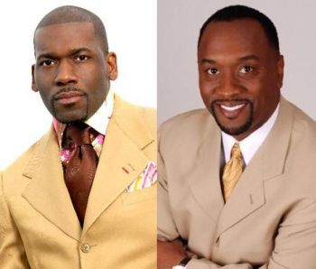 Bishop John I. Cline's book was endorsed by Dr Jamal H. Bryant (left) and foreworded by Bishop Daryl S. Brister (right). Many others show have shown support and positive interpretation of it, including a number of persons on Facebook. Photo: Provided/File