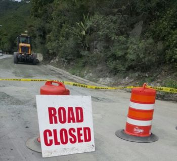 Sharie B.Y. de Castro has expressed dissatisfaction with the state of the territory's roads despite Minister for Communications and Works and Fourth District Representative Honourable Mark H. Vanterpool claiming he spent $12.8ML on road works between 2015 and 2016. Photo: VINO/File