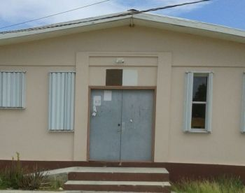 It was around October of 2016 that the Emile E. Dunlop Community Centre in The Settlement, Anegada was shut due to the poor state of the building. Photo: VINO/File