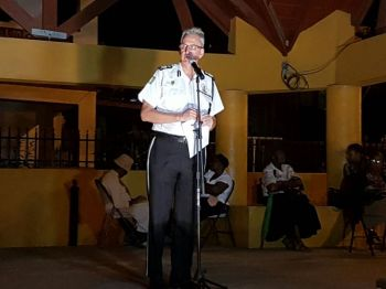 Commissioner of Police Michael Matthews had also urged residents of the Virgin Islands to assist the Royal Virgin Islands Police Force (RVIPF) by providing them with information on criminals and criminal activities. Photo: Provided