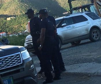 Overseas police officers who came to the British Overseas Territory of the Virgin Islands (VI) following the devastating hurricanes Irma and Maria will end their tenure this weekend, according to National Security Council (NSC) sources. Photo: Team of Reporters/File