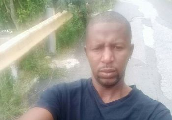 The territory recorded its first murder of the year when Erran Charles, 34 years, was killed and a 17-year-old wounded after a gunman fired shots in the direction where a group of young men were playing dominos while others stood nearby. Charles was one of the onlookers. Photo: Team of Reporters