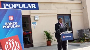 Banking services were finally returned to VG on November 6, 2019–after several months without–with Premier and Minister of Finance, Hon Andrew A. Fahie (R1) remarking that the people deserved better and hence, his government worked hard to deliver on the promise of returning banking to the island. Photo: VINO/File
