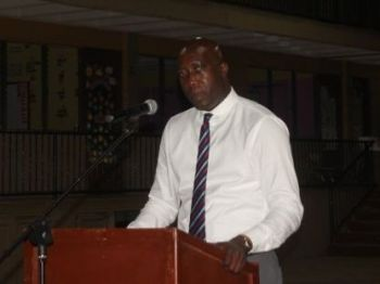 Honourable Myron V. Walwyn (AL), Minister for Education and Culture, has suggested that the community should form a group to mentor youth who are conducting illegal activities. Photo: VINO