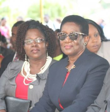 The Virgin Islands currently has two female legislators, Hons Delores Christopher (R5), right, and Alvera Maduro-Caines (R6), left. Photo: VINO/File