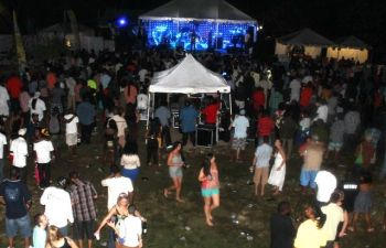 The Foxy's Old Year's Night Celebration is a popular event that sees many persons flocking to Jost Van Dyke to usher in the New Year while being entertained by local and international artistes. Photo: VINO/File
