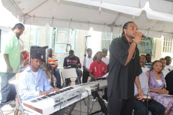 Prisoners performing at a recent event. Photo: VINO/File