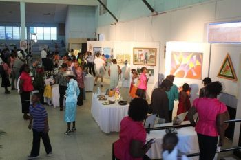 Inside the Sir Rupert Briercliffe Hall during the BVI Festival of Arts in 2013. Photo: VINO/File